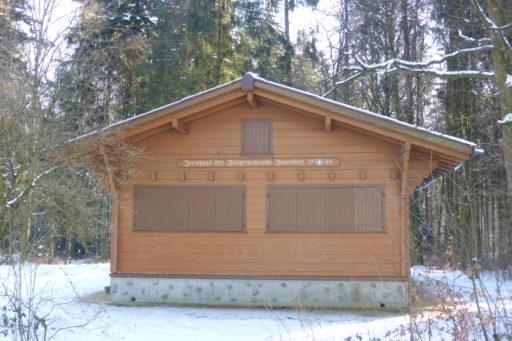 Forsthaus Ägerten - Nordansicht