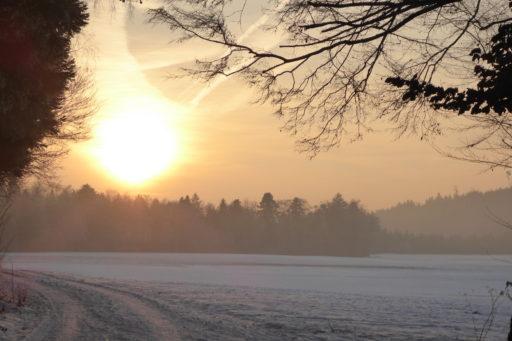 Winterstimmung in der Ägerten